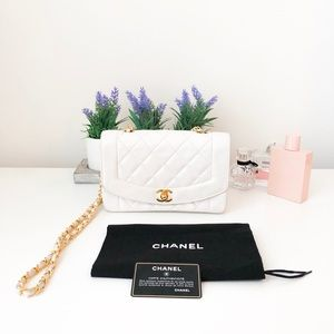 Chanel Gold-Tone Diana